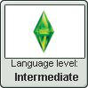Language stamp - Simlish - Intermediate by Sasza-Ola