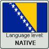 Language stamp - Bosnian - NATIVE by Sasza-Ola