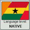 Language stamp - Akan - NATIVE by Sasza-Ola