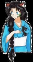 InuYasha/Winx OC - Fumiko (request) by Sasza-Ola