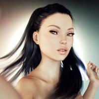 Brooke Self Portrait 1 by sereph665