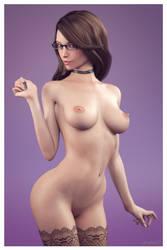 Hailey Standing Portrait 2 by sereph665
