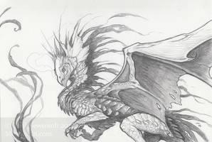 NYE sketch 1 by thedancingemu