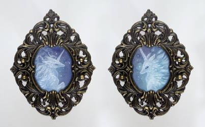 Tiny Frames: Nebula Unicorns by thedancingemu