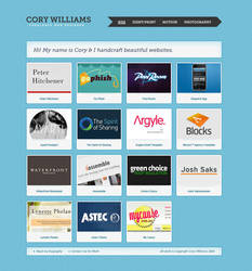 Cory Williams - Portfolio by dotau