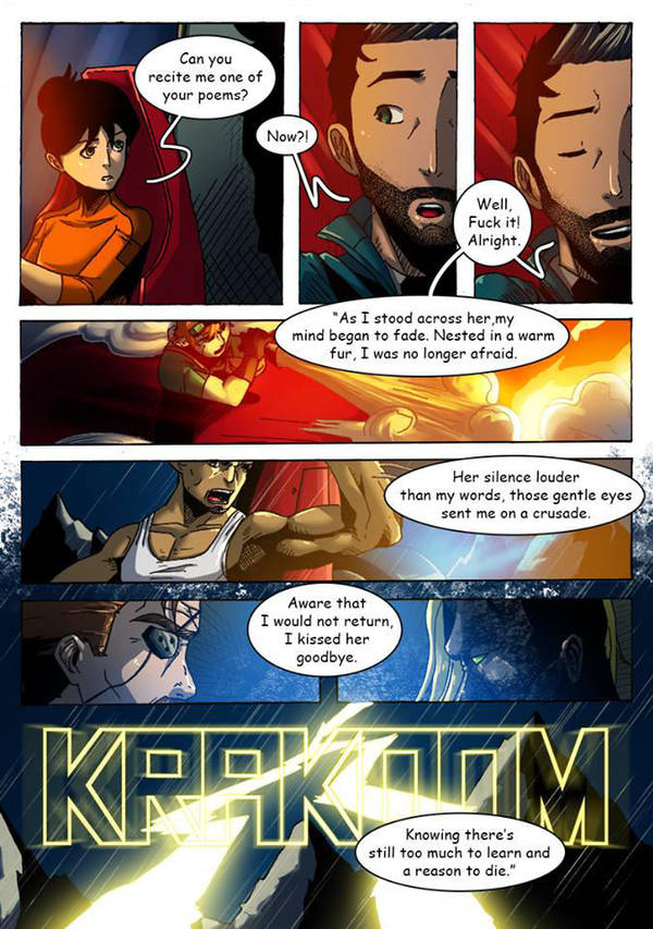 And how about this poem recited by the character by ZoneKomics