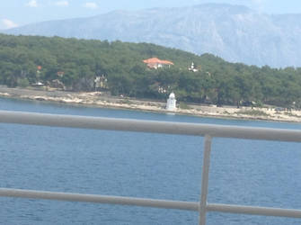 On ferry in Crotia by LW97