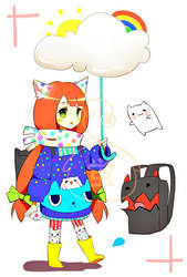 Kemonomimi Raincoat Edition [SET PRICE] - OPEN by Yuupix