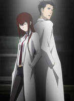 Steins:Gate Mad Scientists by owlclock