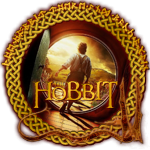 The Hobbit Round Stamp V1 by The-Rasmus-Raven