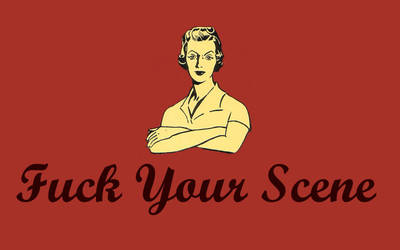 Fuck your Scene T-shirt by dead-muppet