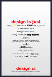 design is... submission by cold-dweller