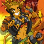 K'BOOM! Junkcat! by Trakker