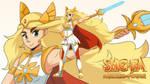 She-Ra Desktop background by Trakker