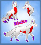 (Adopt open) Blake the wolf by InsanityAnimations