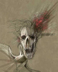 Zombie shot in the head v2 by neo2055