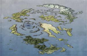 Archipelago World Map by torstan
