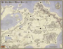 Cities of Vallinor by torstan