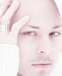 White portrait by SentoFreddo