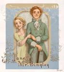 Pride n' Prej: Jane+Bingley by flominowa