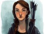 Katniss by flominowa