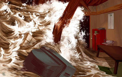Tsunami by flominowa