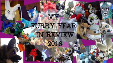 My Furry Year In Review 2016 by CinemaSpeaks