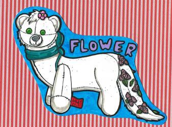 Raffle Prize - Flower Ferret by CinemaSpeaks