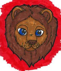 Lion Face by CinemaSpeaks