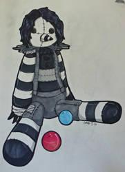 Ragdoll Clown by CinemaSpeaks
