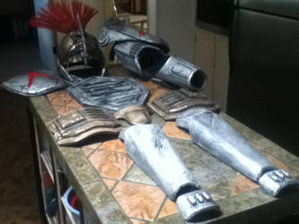 fallout Centurion armor COMPLETE by SilentZer0