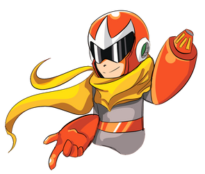 ProtoMan by Hierophant0