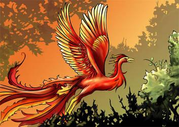 Phoenix by Azzedar-san