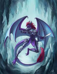 Lady Dragoness by Azzedar-san