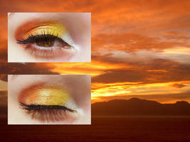 Sunrise Make-up by OrderOfShadows