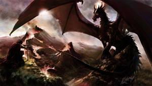 Dragon King by DiegooCunha