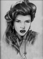 Vampiress with Cross by -malak-