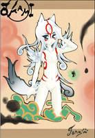 Okami Amaterasu by Jenovita