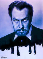 VINCENT PRICE by woodywelch