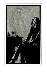 Snape by monotypist