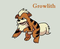 Growlithe by Roky320
