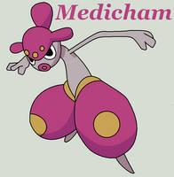 Medicham by Roky320