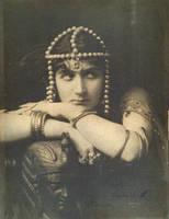 Vintage exotic woman by MementoMori-stock