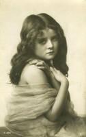 Vintage beautiful girl by MementoMori-stock