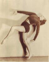 Vintage flapper dancer by MementoMori-stock