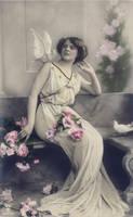 vintage greek goddess I by MementoMori-stock