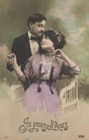 Vintage couple XI by MementoMori-stock