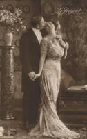 Vintage romantic couple III by MementoMori-stock