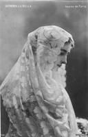 Vintage woman in shawl IX by MementoMori-stock