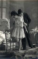 Vintage passionate couple 10 by MementoMori-stock